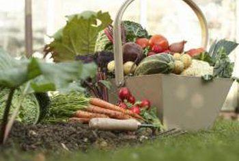 Hoe om `n grasperk in `n groentetuin te maak