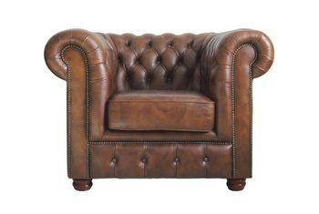 Hoe herstel ek die afwerking op leer meubels?