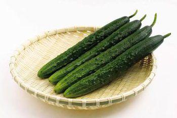 Komkommers en plaagdoders
