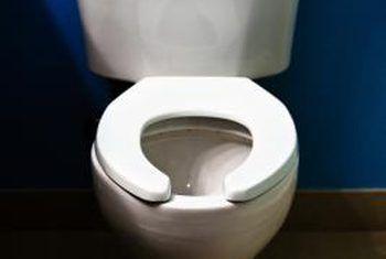 Hoe om `n vlekvrye staal kas in `n toilet te vervang